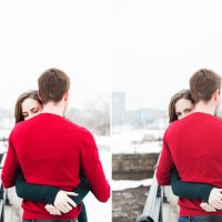 Kayla and Stuart's Lachine Canal Engagement Session