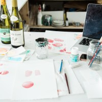 Watercolor Workshop with Jodi Tellier of Someday Art Co.
