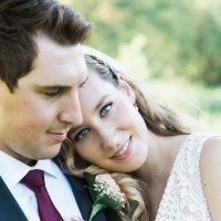Max and Felicia's Vintage-Glam Wedding at Au Vieux Moulin