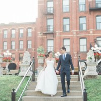 Karen and Khaled's Intimate Wedding at Restaurant L'ambroisie