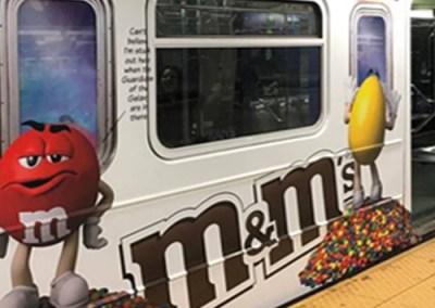 M&M Subway Wrap