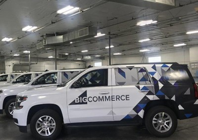 Big Commerce Vehicle Wraps
