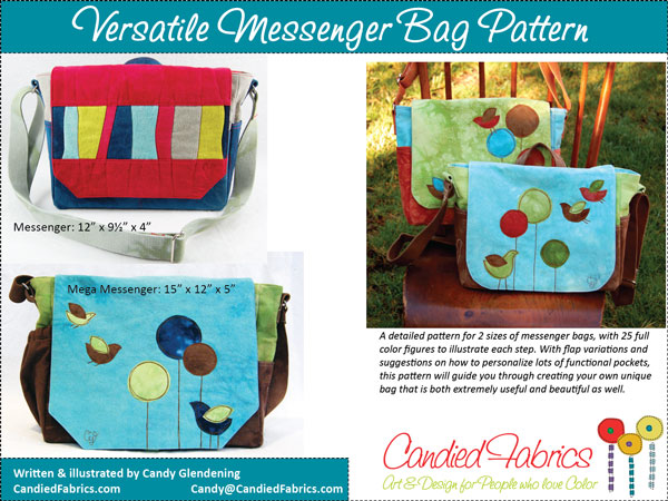 Versatile Messenger Bag Pattern