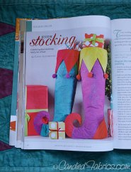 QA Gifts: Jester Stockings