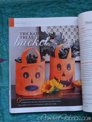 QA Gifts: Trick or Treat Bucket