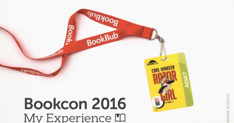 Bookcon 2016: My Experience