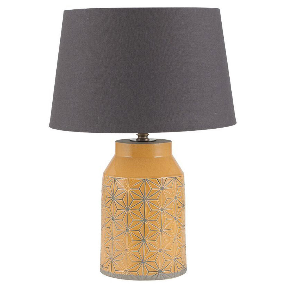 Table Lamps For BedroomModern Mustard Table Lamp Candle