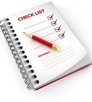 A generic checklist