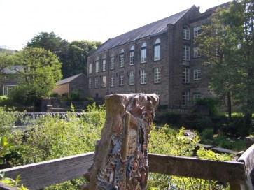 Bamford Mill viewed from the Bridge