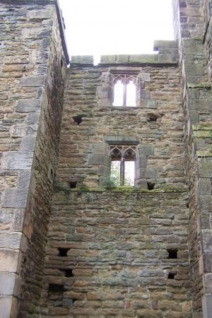 Walls and holes due to cannon balls