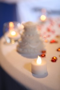 flameless battery operated tea light candles for your wedding day