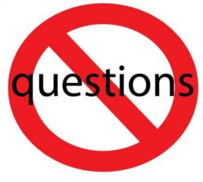 Image result for no question clipart