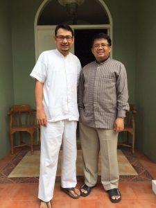 Bersama Dr. Mohamad Sohibul Iman, Aleg Pusat PKS periode 2009-2019