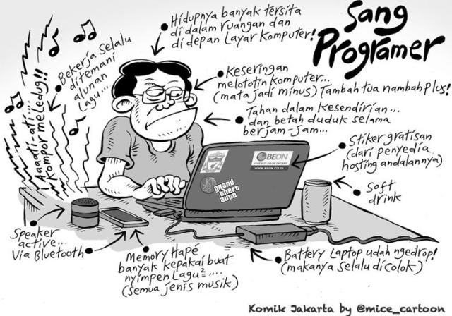 Mengapa Sebaiknya Anda Tidak Jadi Programmer Candralab Studio