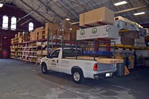 CR Building Supply Drive thru Lumber Yard in Philadelphia PA