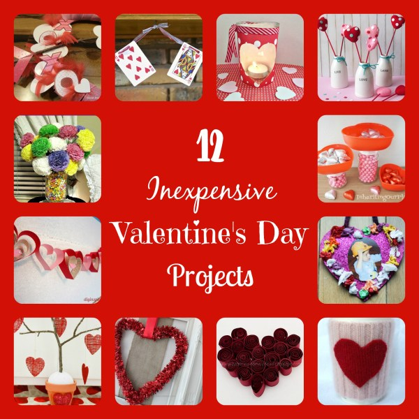 inexpensive valentine's day projects
