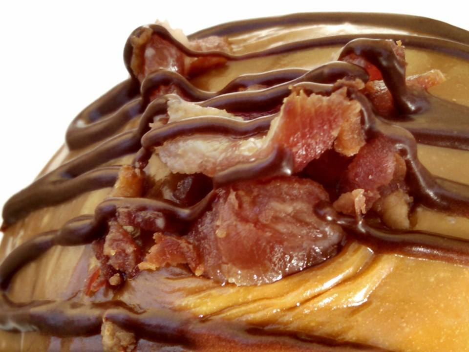 Behold the Maple Bacon Donut