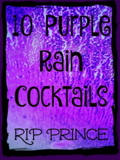 purple rain cocktails
