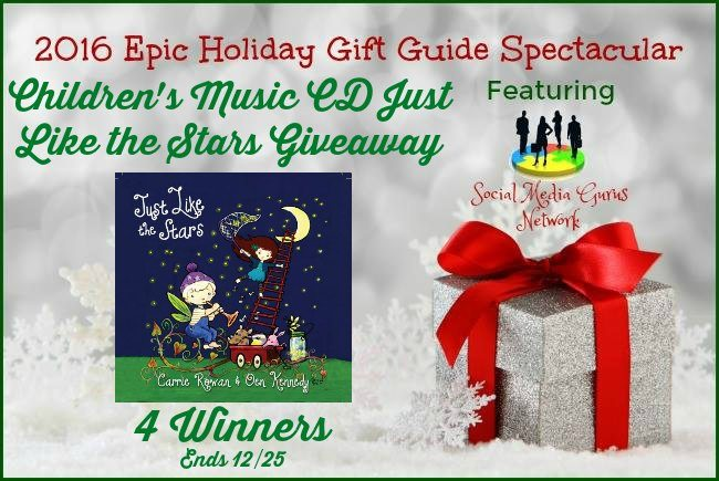Children's Music CD Just Like the Stars #Giveaway #SMGN