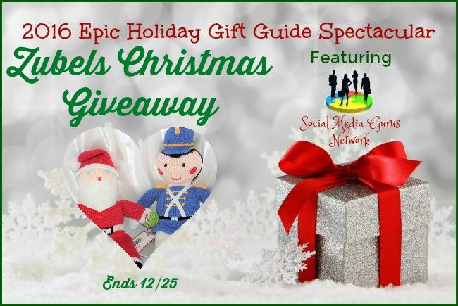 Zubels #Christmas #Giveaway #SMGN Ends 12/25