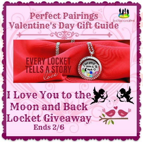 I Love You to the Moon and Back Locket #Giveaway Ends 2/6 #SMGN