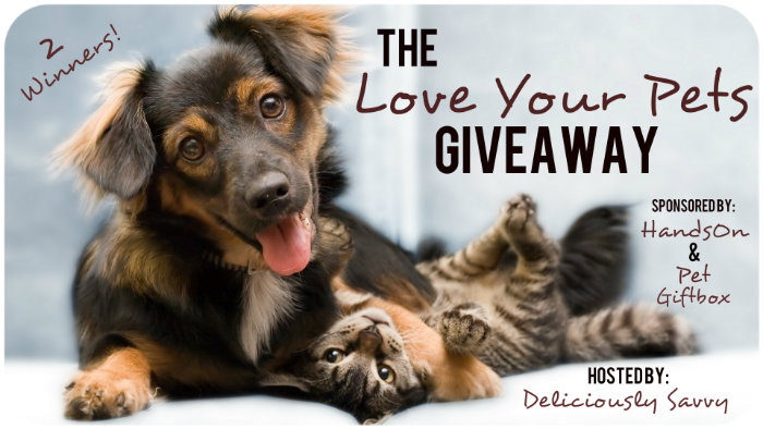 The Love Your Pets #Giveaway (2 Winners) Ends 1/26