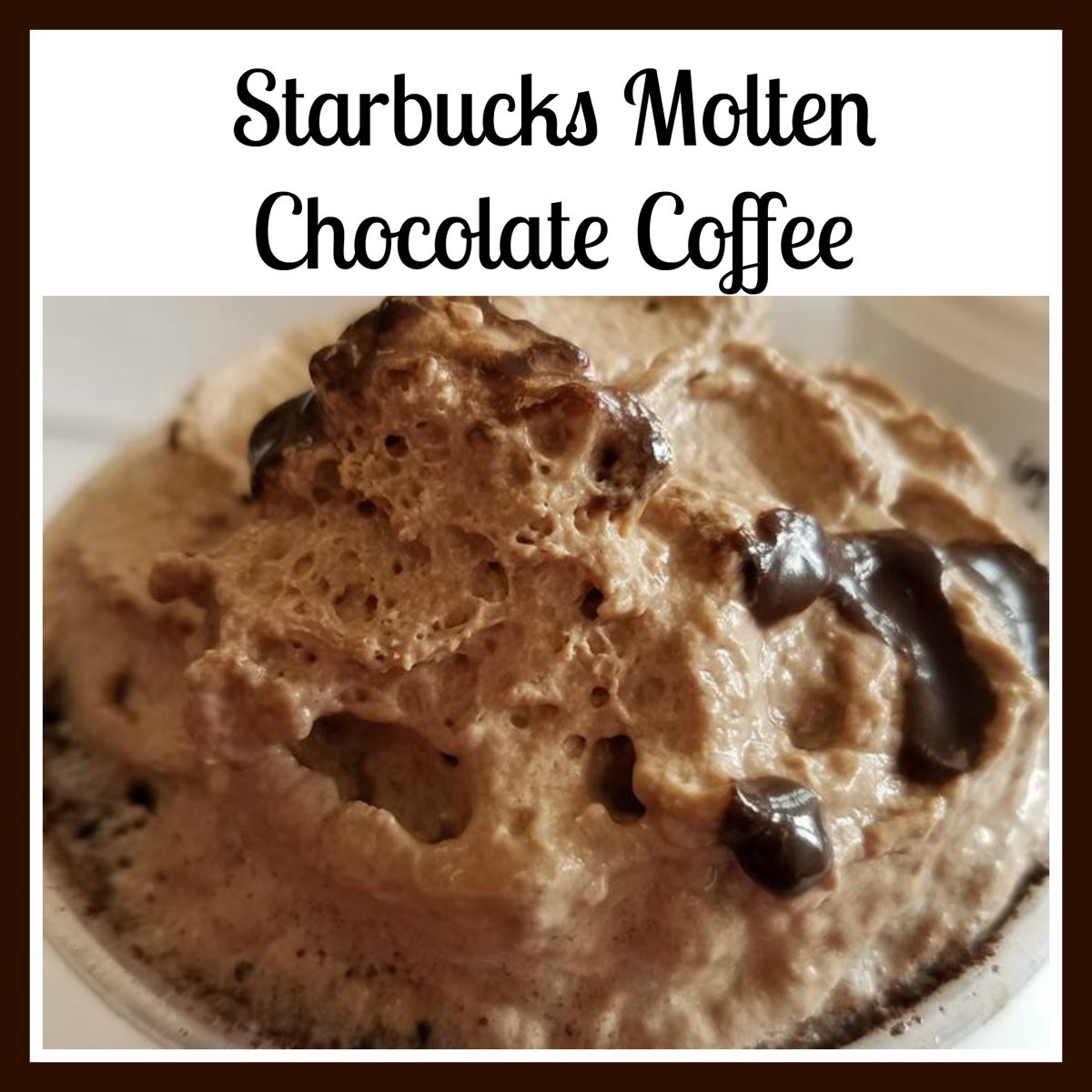 Starbucks Molten Chocolate Coffee