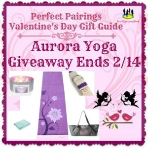 Aurora Yoga #Giveaway Ends 2/14 #SMGN