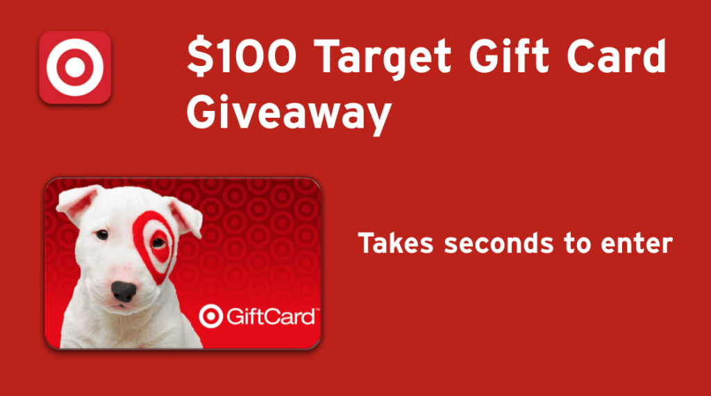 DropPrice $100 Target Gift Card #Giveaway Ends 4/4
