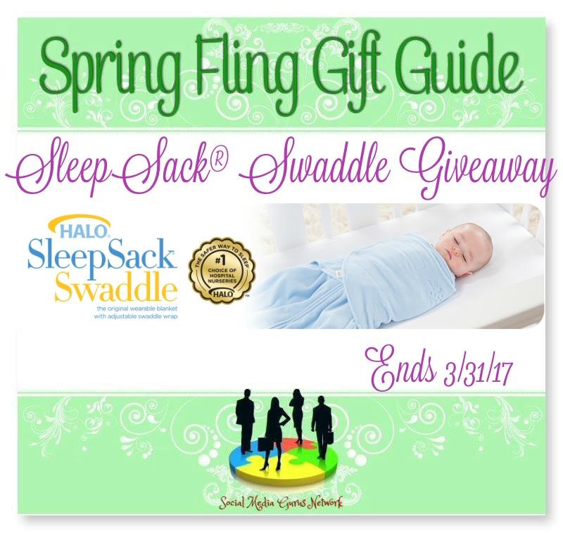 Spring Fling Gift Guide SleepSack Swaddle #Giveaway Ends 3/31 #SMGN
