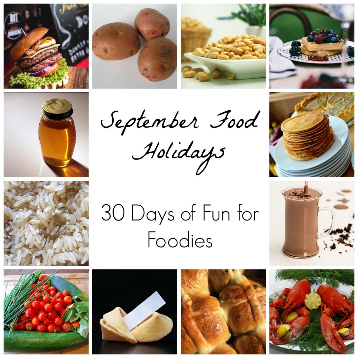 September Food Holiday Observances