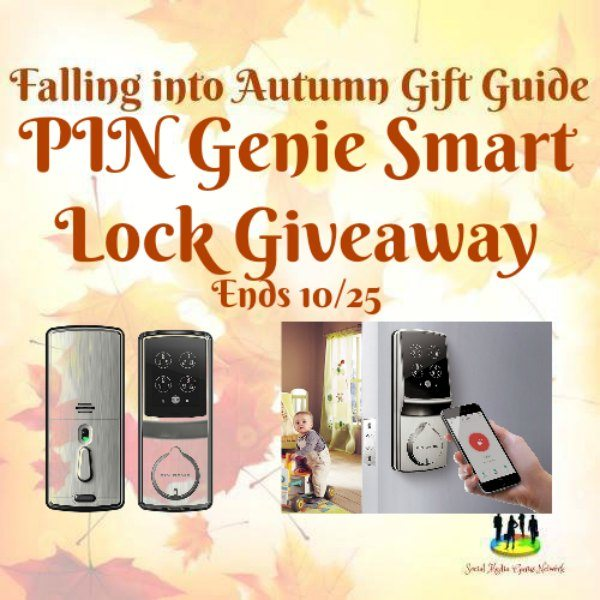 PIN Genie Smart Lock #Giveaway Ends 10/25
