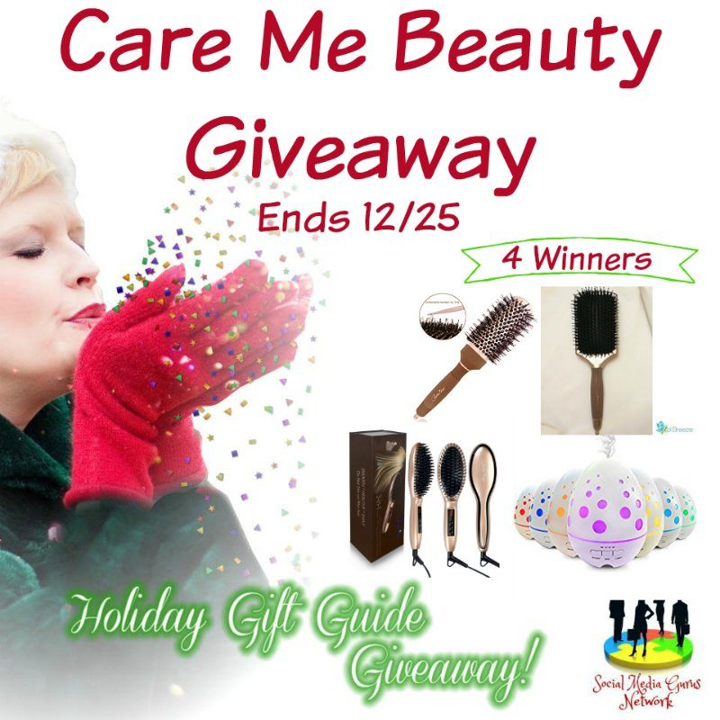 Care Me Beauty #Giveaway Ends 12/25 with 4 winners