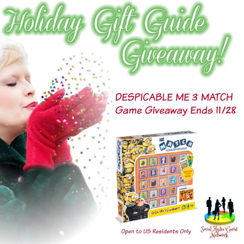 Despicable Me 3 Match Game #Giveaway Ends 11/28