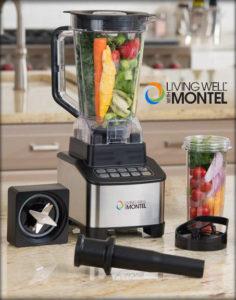 Living Well with Montel 1200 Watt Emulsifier Blender #Giveaway Ends 12/10