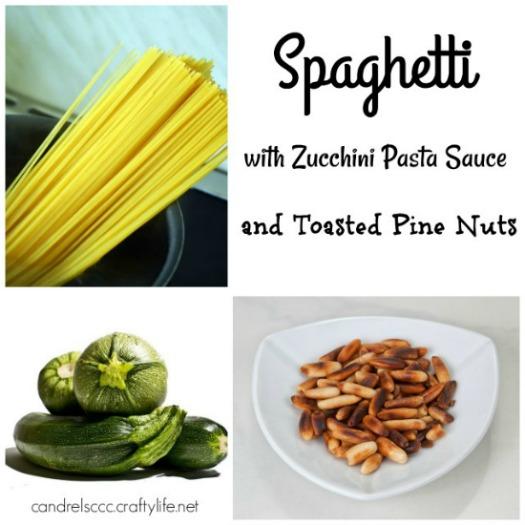 Spaghetti With Zucchini Pasta Sauce