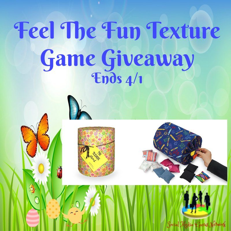 Feel the Fun Texture Game #Giveaway Ends 4/1 #SMGN