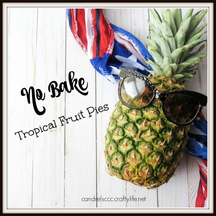 2 Easy No Bake Tropical Fruit Pie Recipes