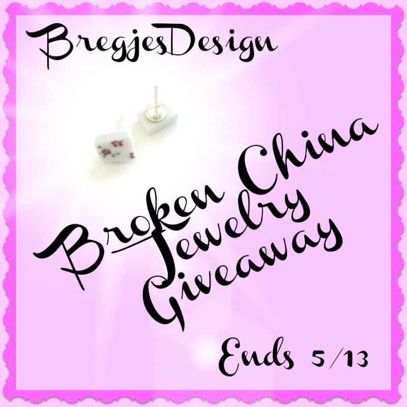 BregjesDesign #BrokenChinaJewelry #Giveaway Ends 5/13 #SMNG