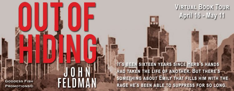 Meet John Feldman, Author of Out of Hiding with Giveaway