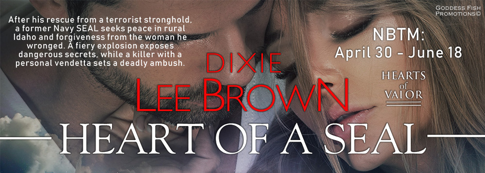 Meet Luke Harding, Star of Dixie Lee Brown's Heart of a Seal with Giveaway