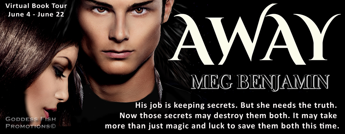 Interview with author Meg Benjamin about Away with Giveaway