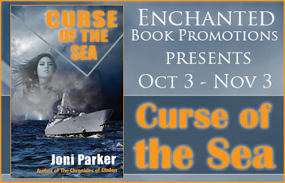 Meet Joni Parker, Author of Curse of the Sea with Giveaway