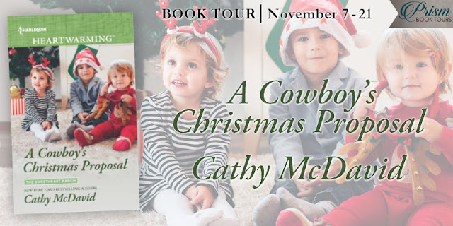 Interview with Cathy McDavid, author of A Cowboy's Christmas Proposal