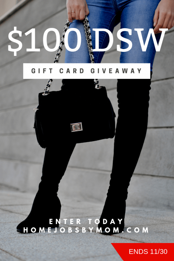 DSW Shoe Warehouse #Giveaway Ends 11/30