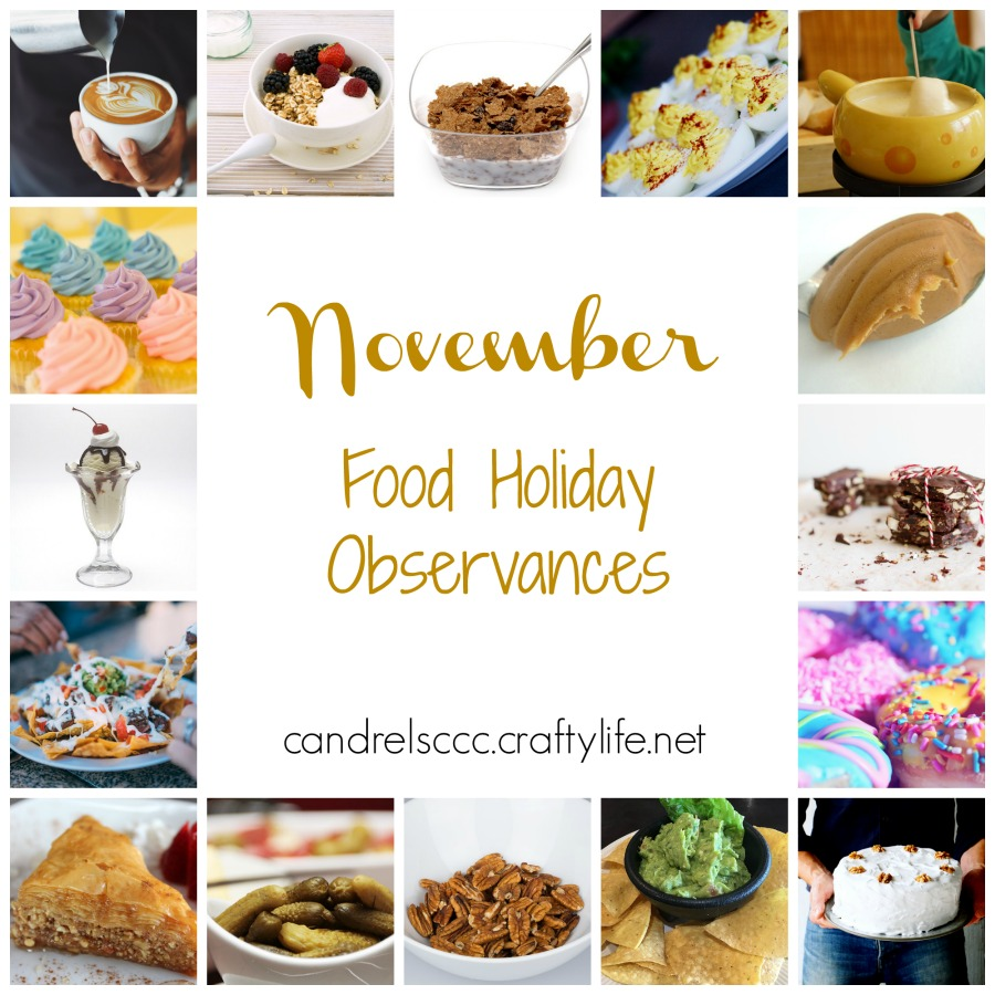 November Food Holiday Observances