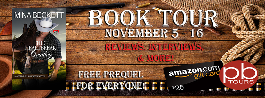 Interview with Mina Beckett, author of The Heartbreak Cowboy