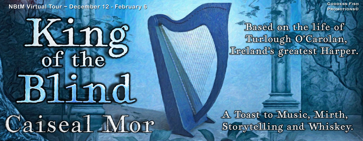 Interview with Caiseal Mor, author of King of the Blind