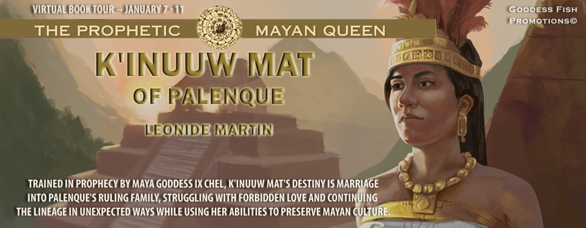 Interview with Leonide Martin, author of The Prophetic Mayan Queen