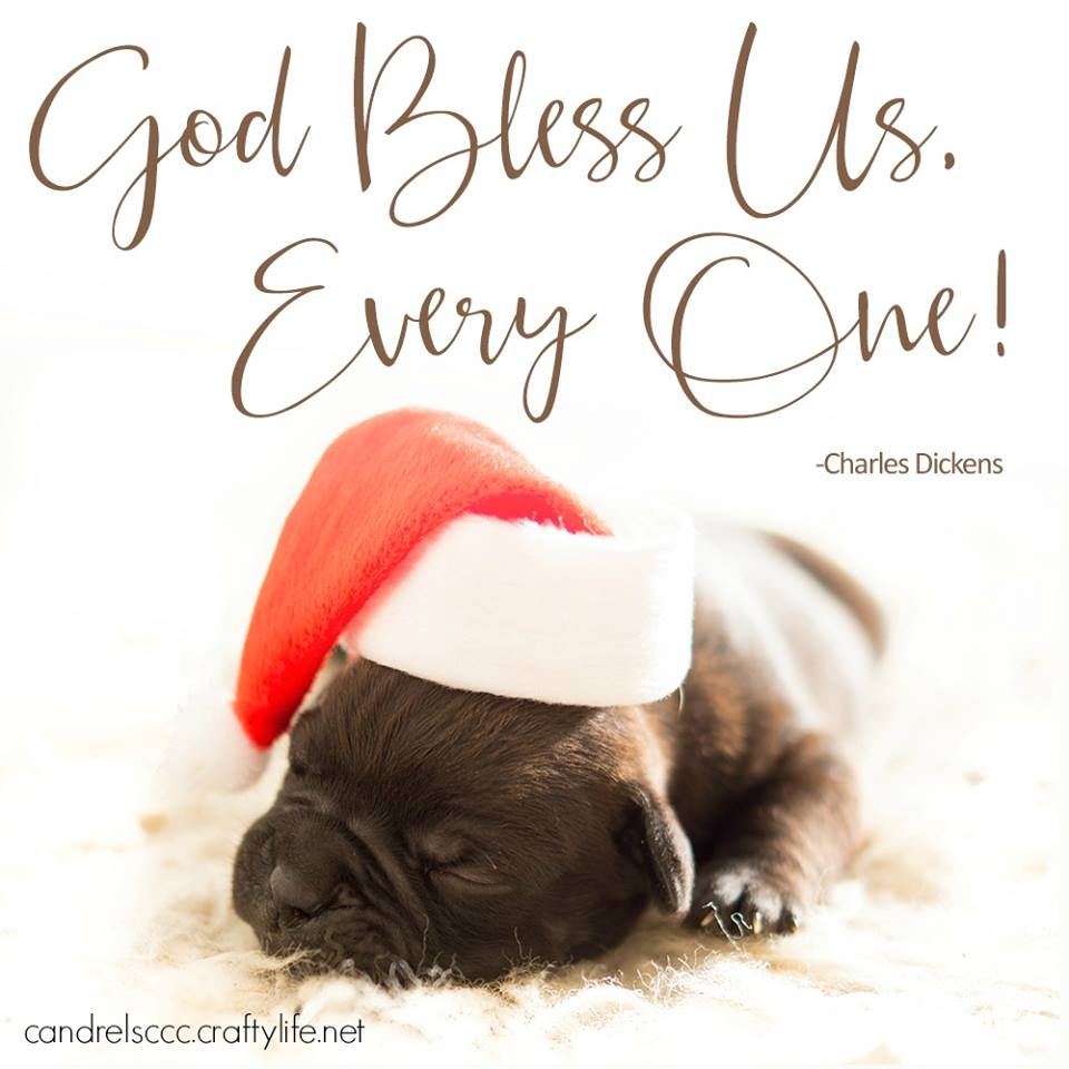 God bless us, everyone!
